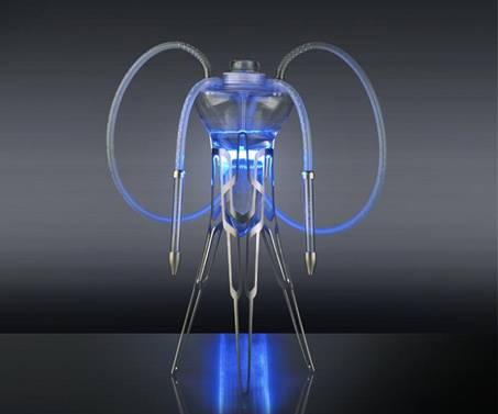 фото кальян медуза