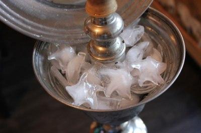 кальян и лед