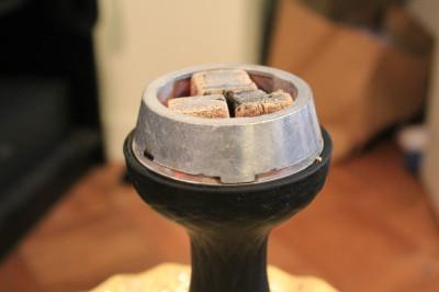 клауд для кальяна с углями